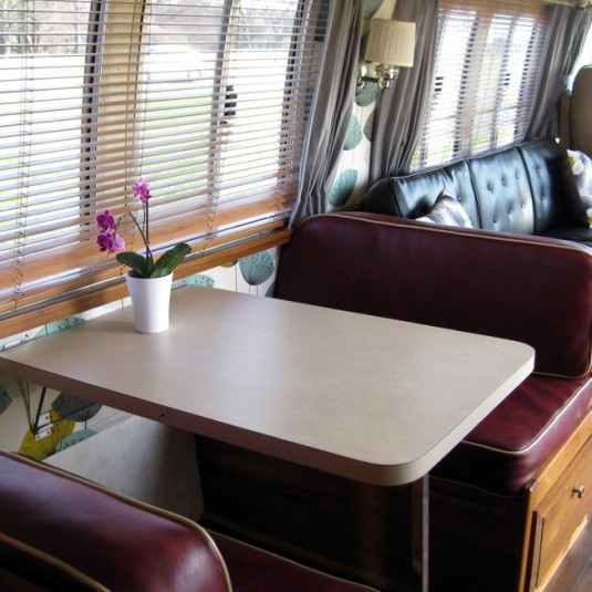 Airstream Diner Seats