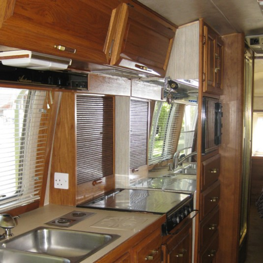 Airstream Kitchen