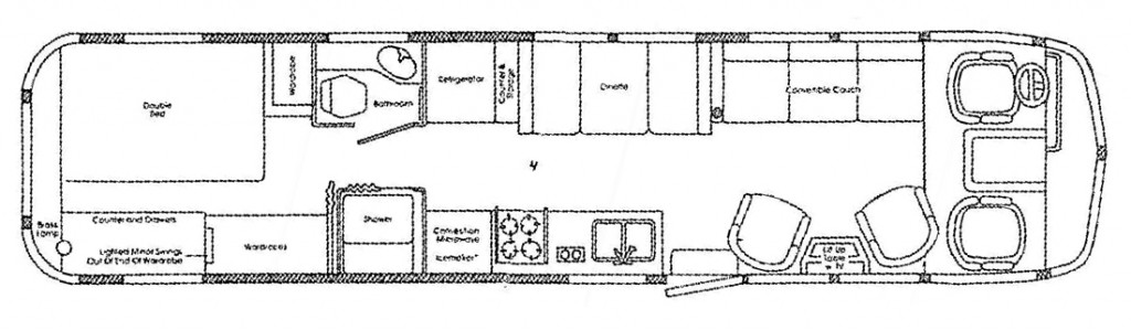 Airstream 345 Layout