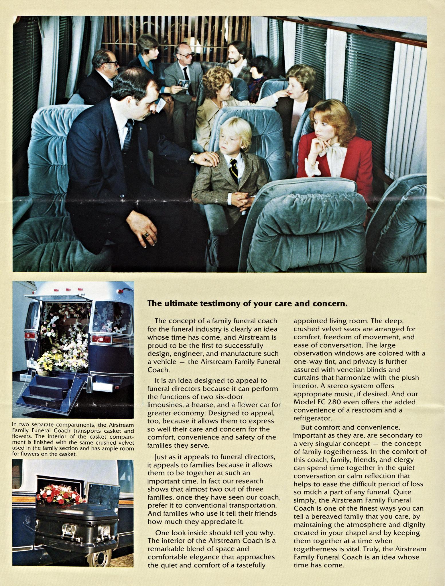 Airstream Funeral Coach